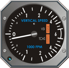 Vertical speed indicator
